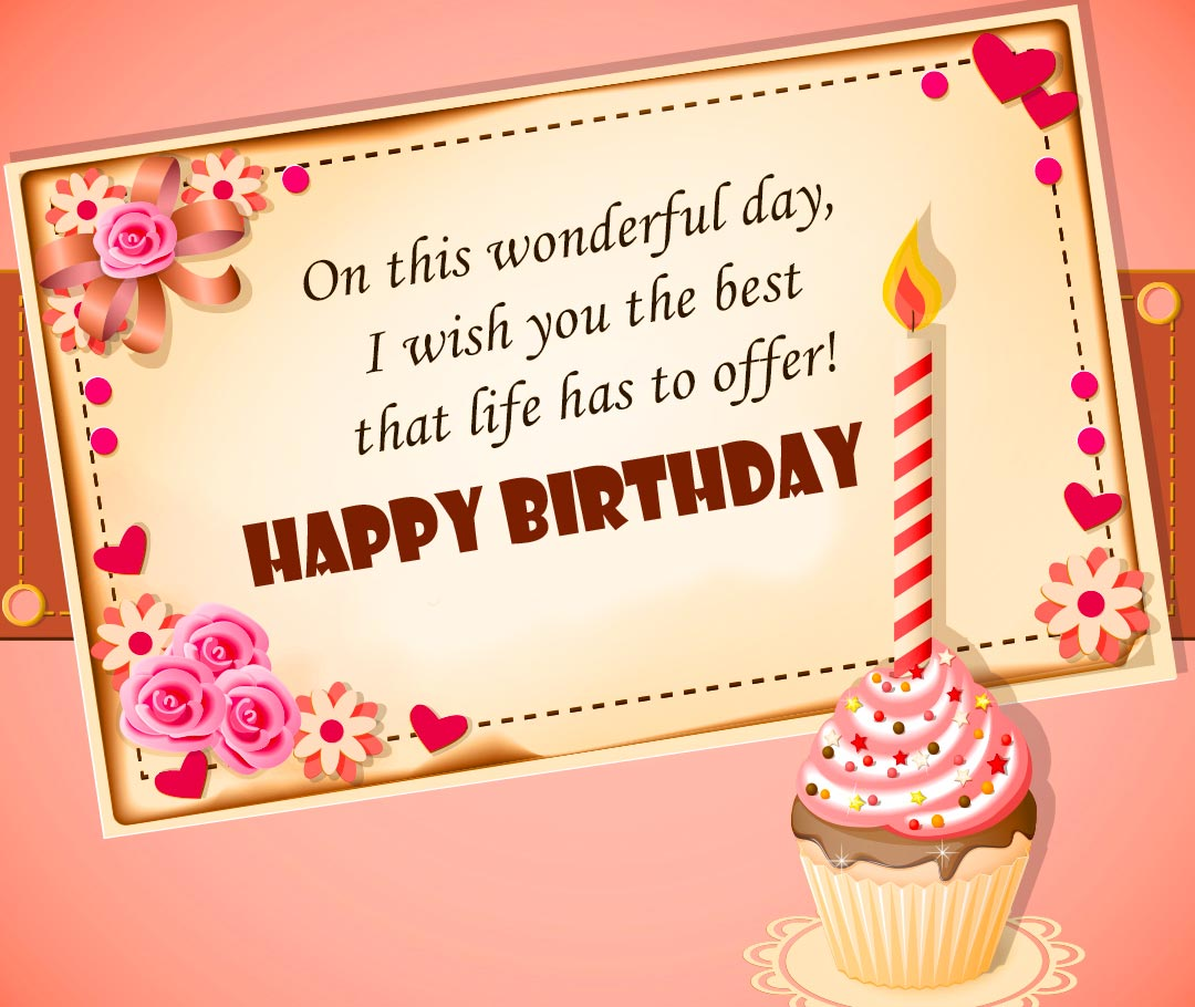 Happy Birthday Message and Wish Picture