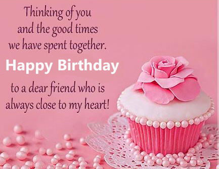Happy Birthday Message for Friend Pic