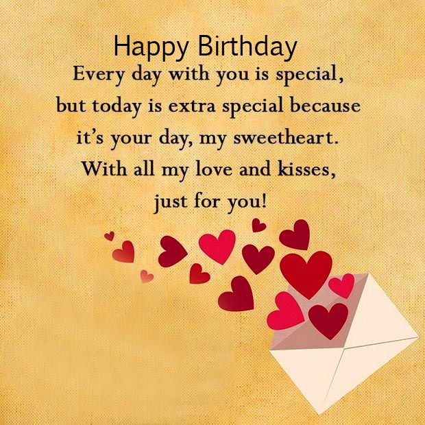 Happy Birthday Message with Special Message