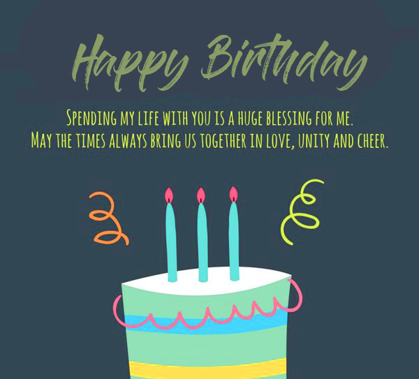 Happy Birthday Picture with Beautiful Message
