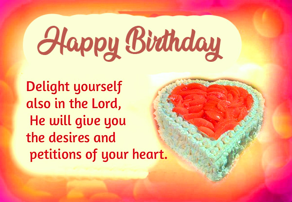 Happy Birthday with Delightful Lord Message