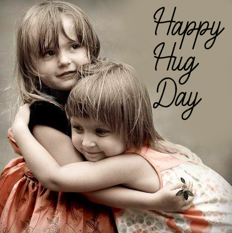 Happy Hug Day Image for Friends