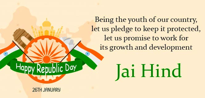 Happy Republic Day Greeting Message Pic