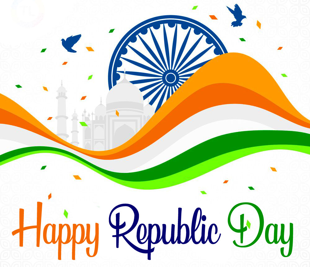 Happy Republic Day Lovely Animated Wallpaper