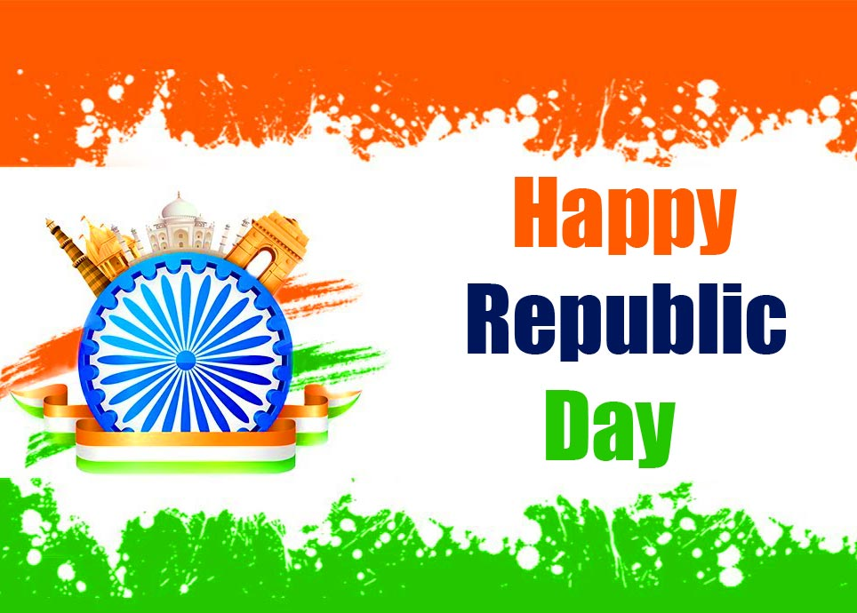 Happy Republic Day Lovely Indian Image