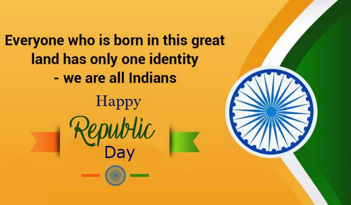Happy Republic Day Wish with Quotes