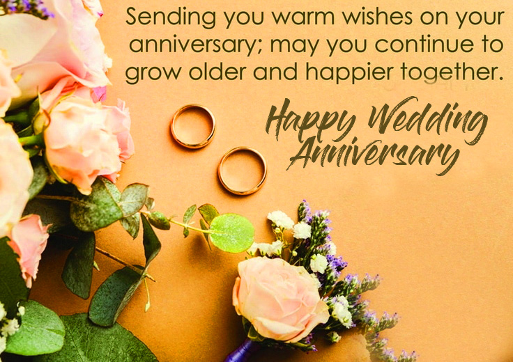Happy Wedding Anniversary Lovely Quotes Picture