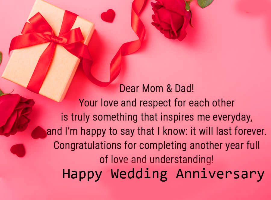 Happy Wedding Anniversary with Lovely Quotes