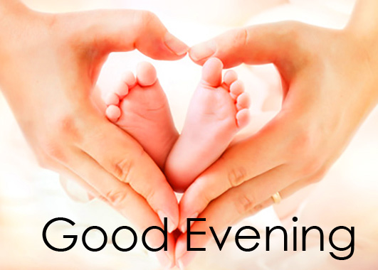 Heart Good Evening Baby Love Picture