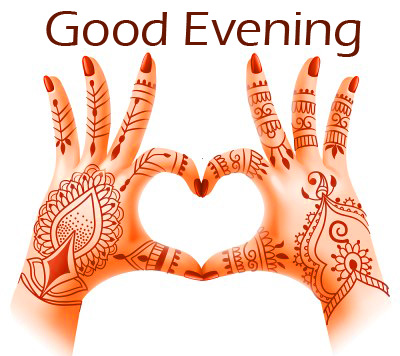 Indian Hands Heart Good Evening Picture