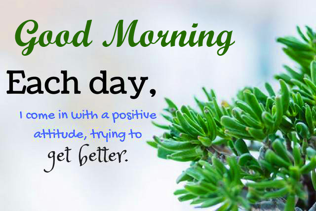 Kind Positive Quotes Good Morning Image