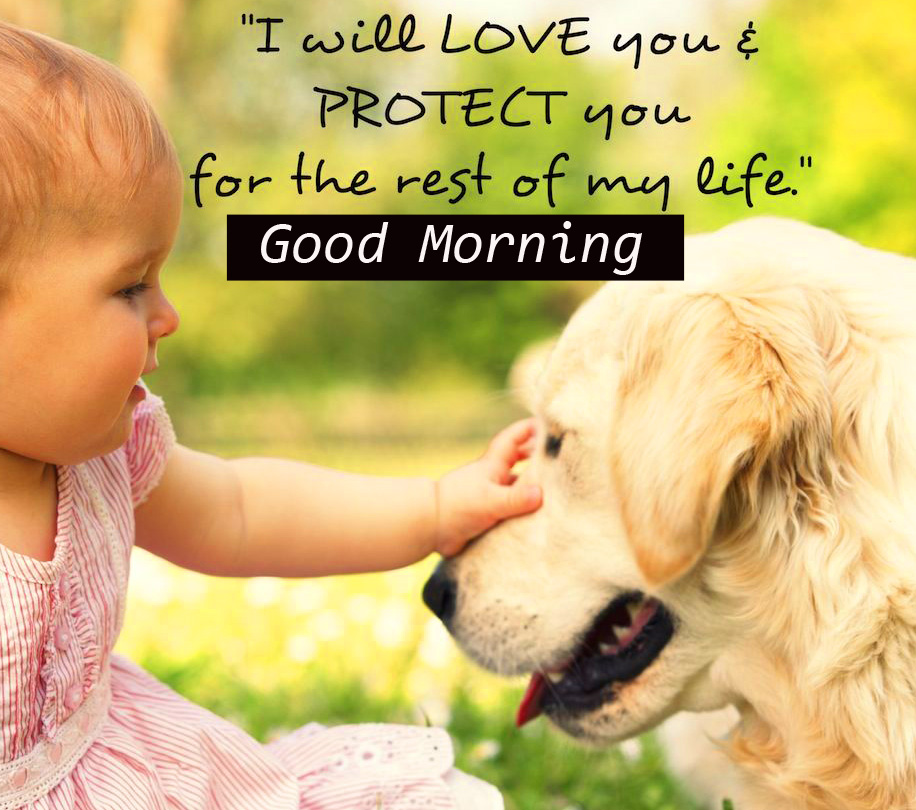 Latest Baby Quote with Good Morning Wish