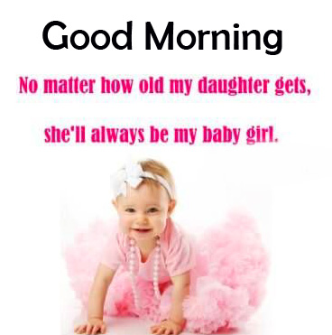Latest Baby Quotes Good Morning Image