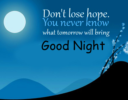 Latest Good Night Blessing Quotes Image