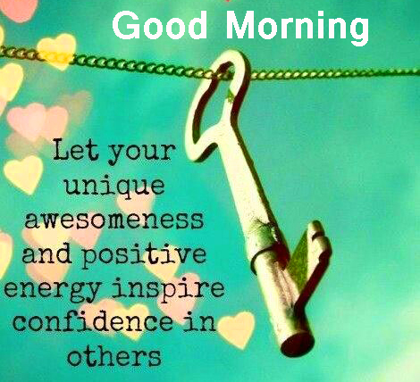 Latest HD Positive Words with Good Morning Wish