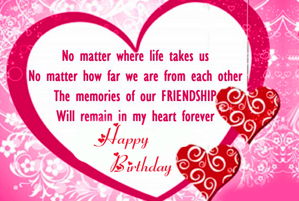 Latest Happy Birthday Message for Friend