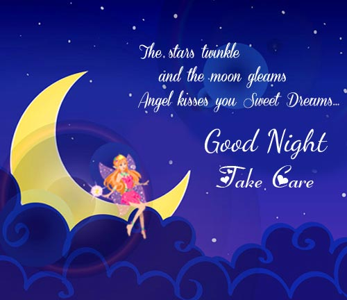 Latest and Best Good Night Take Care Picture