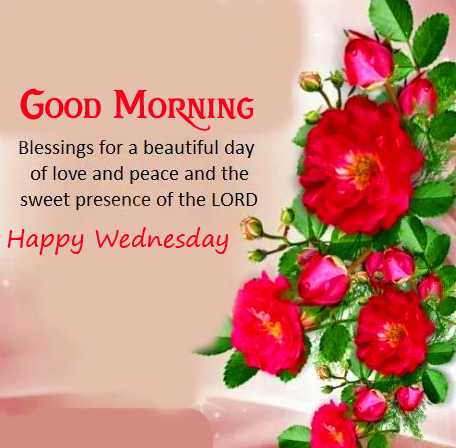 Lord Blessing Good Morning Happy Wednesday Image