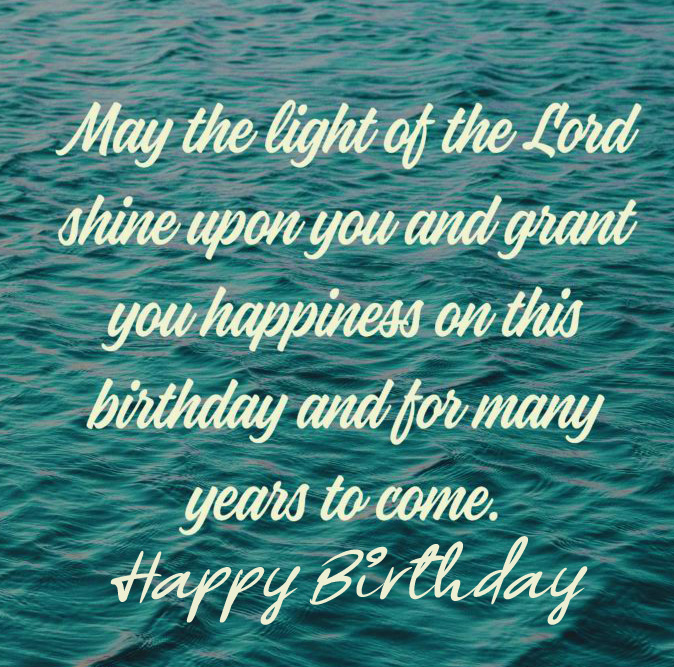 Lord Blessing Happy Birthday Image