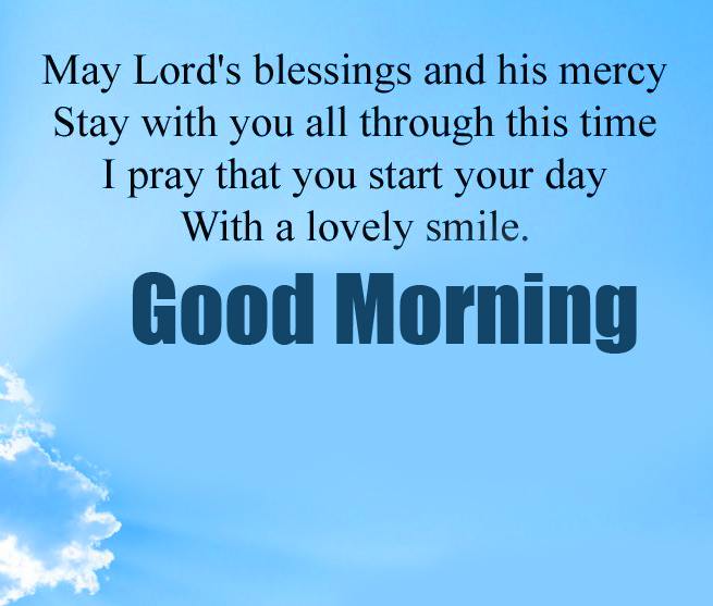 Lords Blessing Good Morning Image