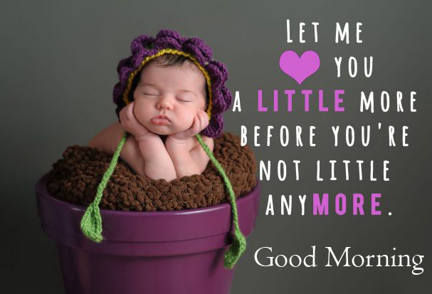 Love Baby Quotes Good Morning Image