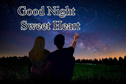 Love Couple Good Night Sweet Heart Picture