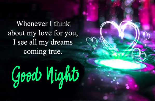 Love Good Night Message Picture