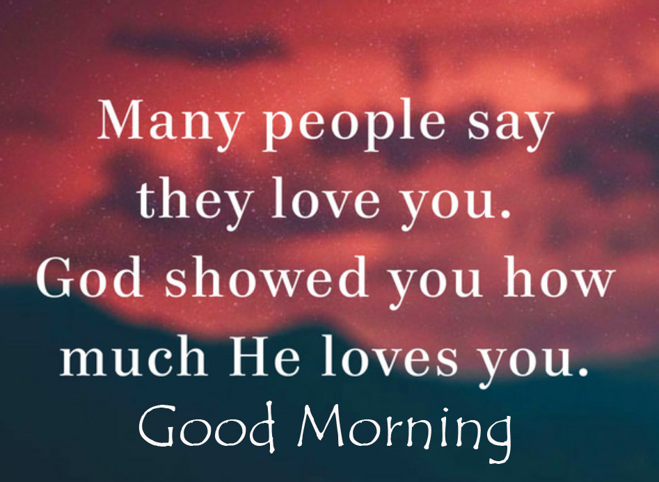 Love for God Quotes Good Morning Image