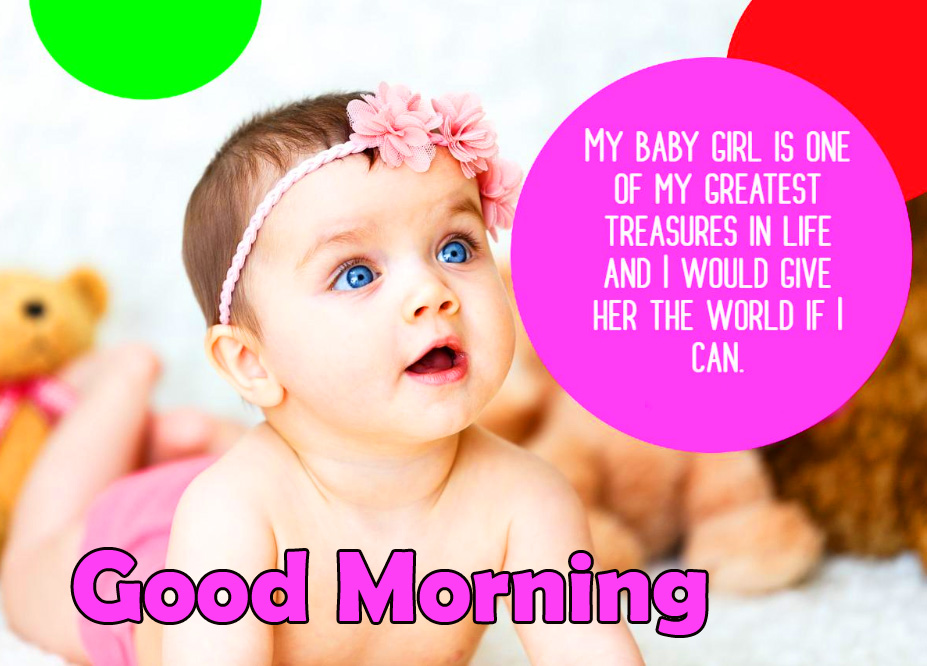 Lovely Baby Quotes Good Morning Image