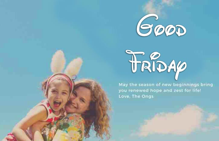 Lovely Good Friday Wishing Picture