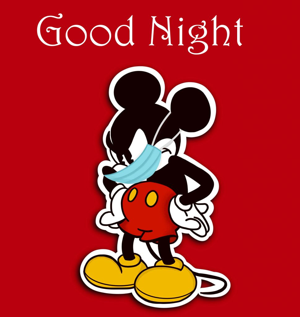 49+ Good Night with Mickey Mouse and Minnie Mouse Cartoon Picture
