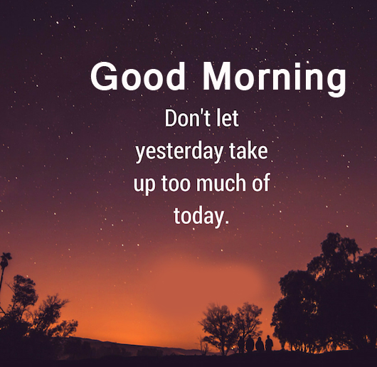 Lovely Positive Words with Good Morning Wish