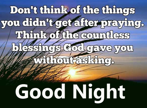 Lovely Prayer Good Night Picture HD