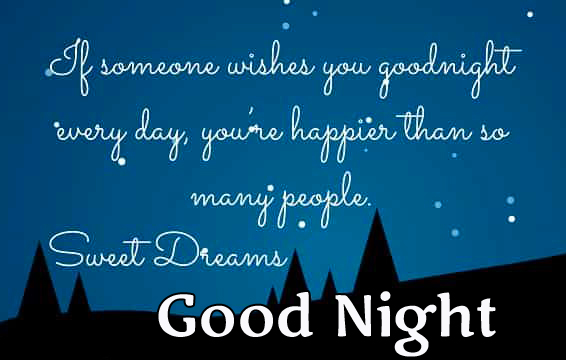 Lovely and Beautiful Good Night Quotes Blessing Image