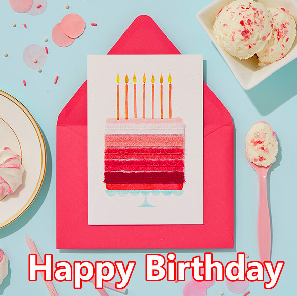 Lovely and Creative Happy Birthday Message Image