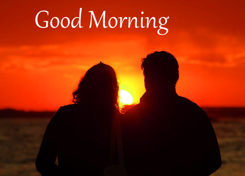 Lover with Good Morning Message