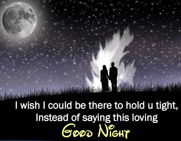 Loving Blessing Quotes Good Night Image