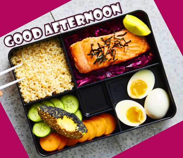 Lunch Box Good Afternoon Sunday Wallpaper