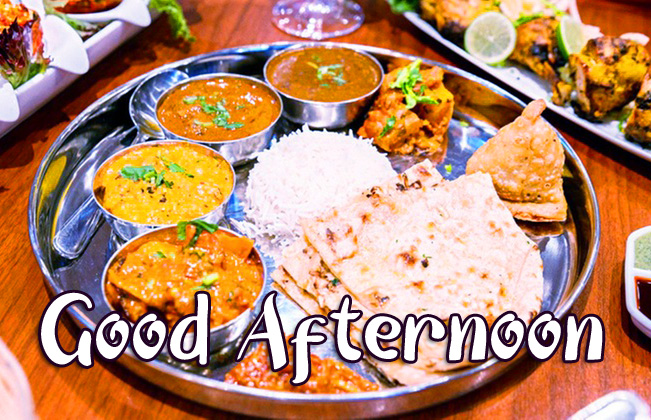 Lunch Good Afternoon Sunday Image HD