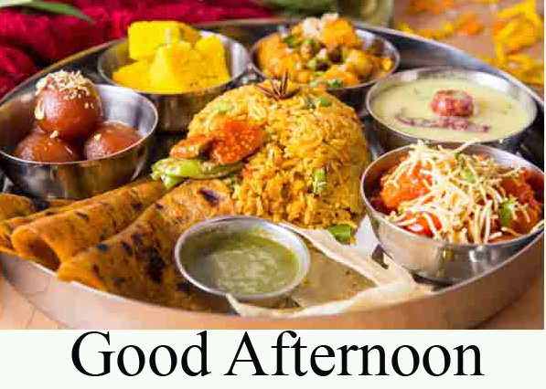 Lunch Good Afternoon Sunday Image and Photo