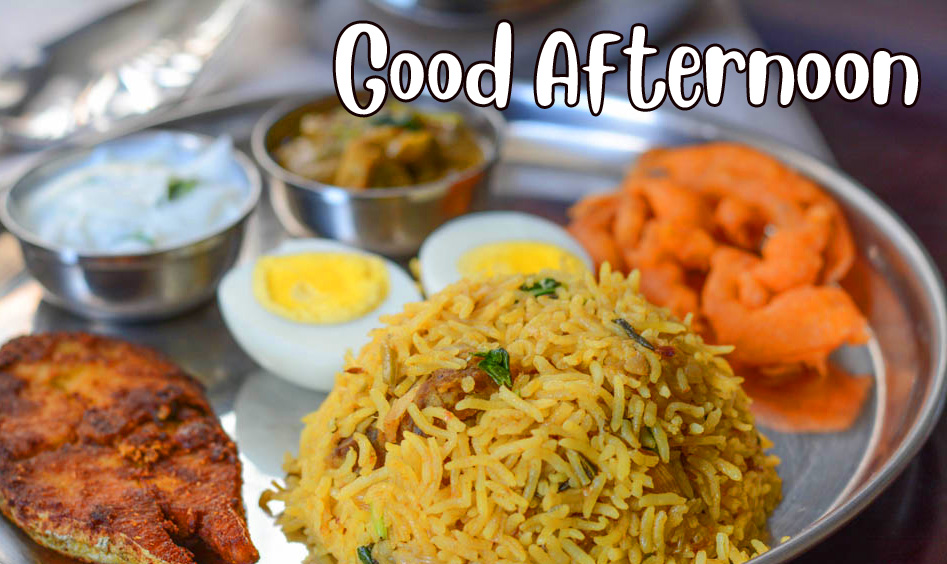 Lunch Good Afternoon Sunday Image