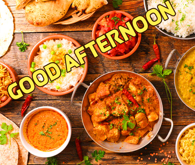 Lunch HD Good Afternoon Sunday Wallpaper