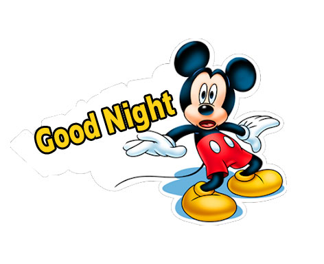 Mickey Mouse Good Night Wallpaper and Pic