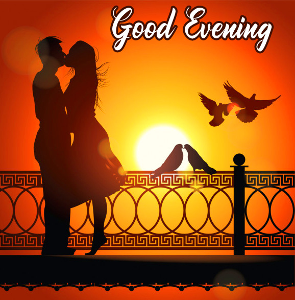 Nature Love Couples Good Evening Image