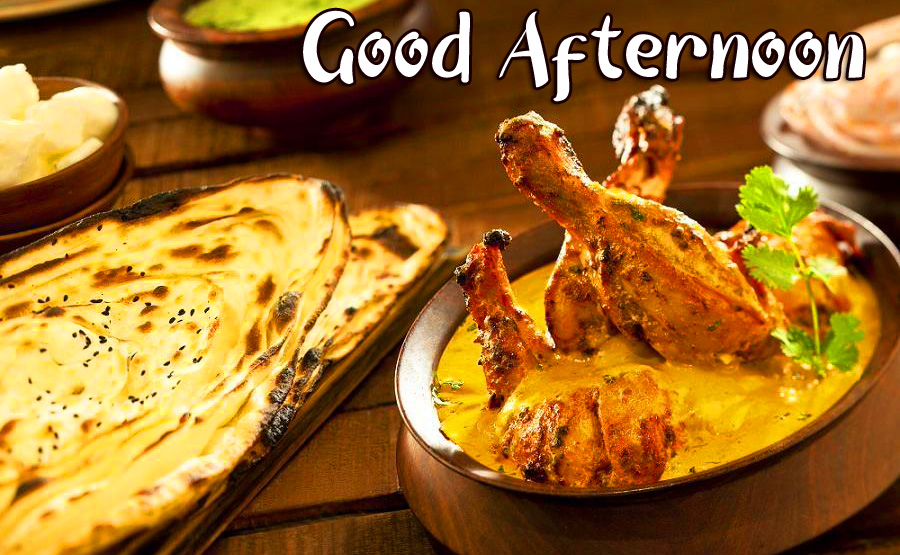 Non Veg Lunch Good Afternoon Sunday Image
