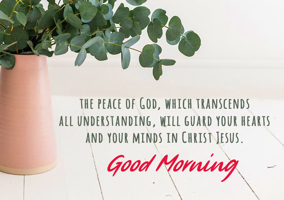 Peace Blessing Good Morning Image