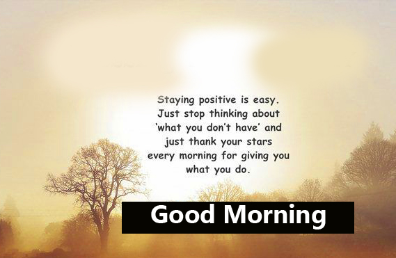 Positive Blessing Good Morning Image
