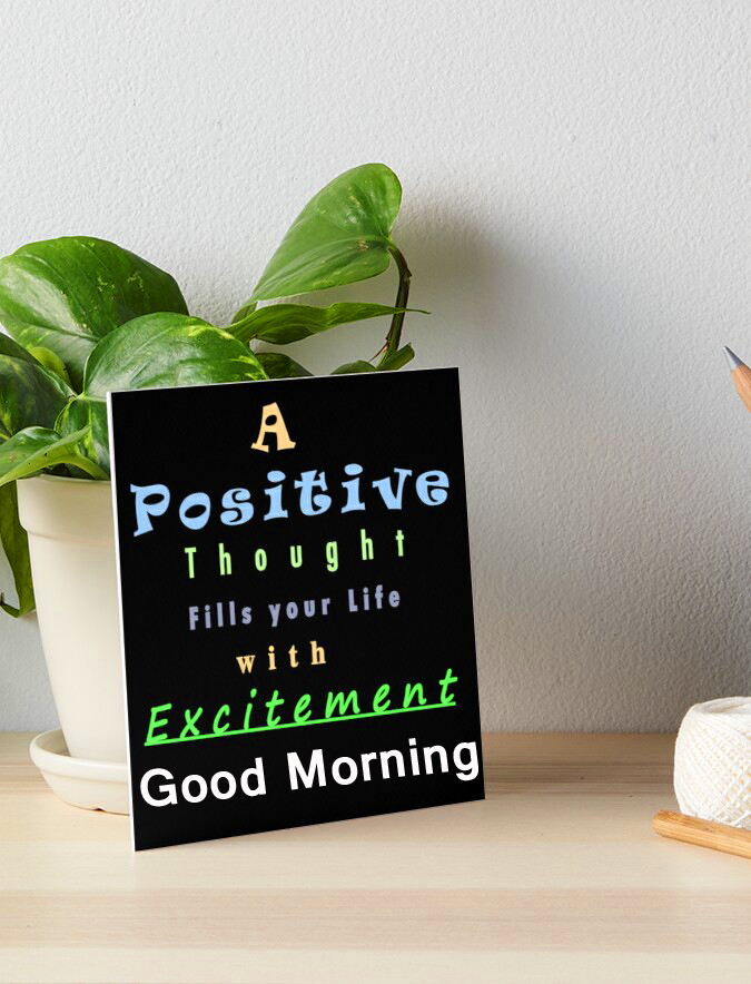 Positive Thought Good Morning Picture HD