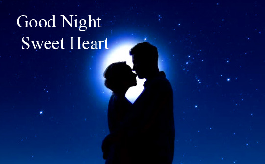Romantic Couple Good Night Sweet Heart Picture