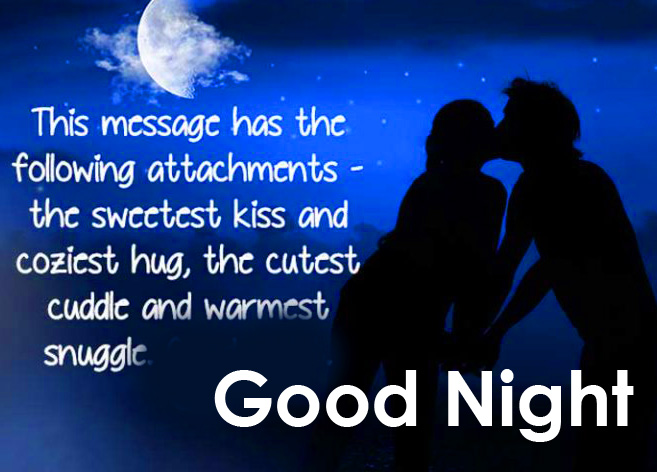 Romantic Good Night Message Picture